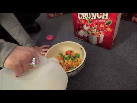 Thumbnail: Tasting Christmas Captain Crunch Limited Edition Cereal