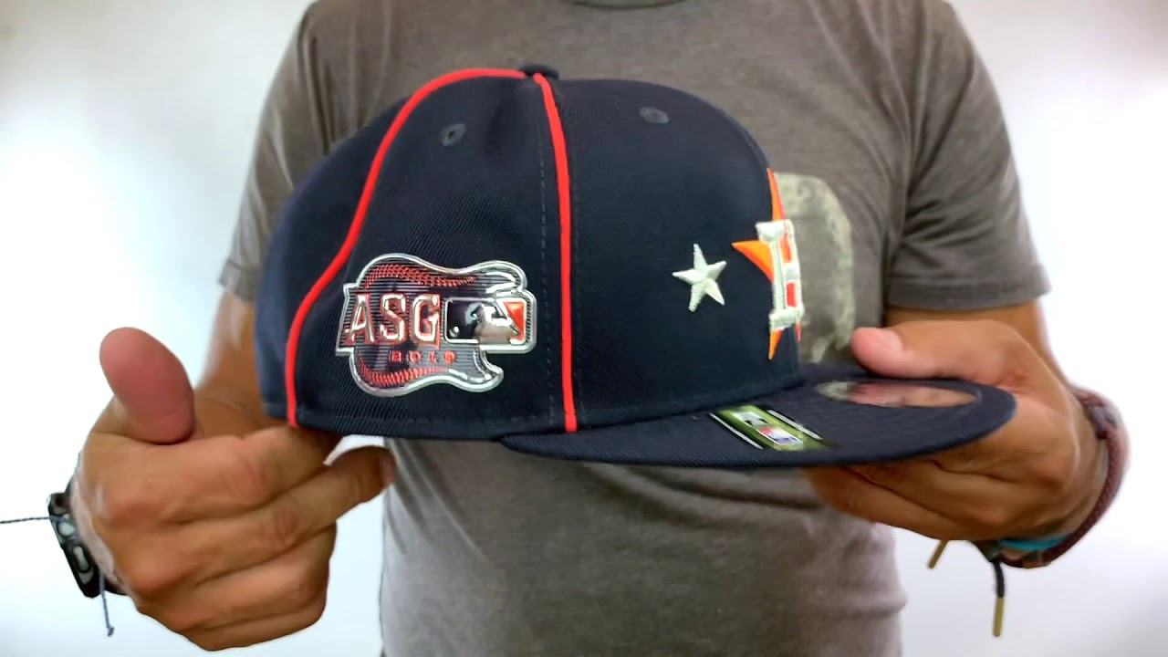 big sale 375a0 3ea35 Houston Astros 2019 MLB ALL-STAR GAME SNAPBACK Hat by New Era