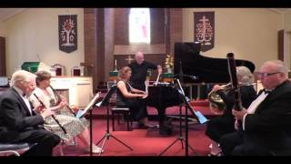 Mozart: Quintet for Piano/Winds Eb Major K. 452 Larghetto