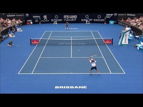 ATP Match Highlights Day 4 | Brisbane International 2018