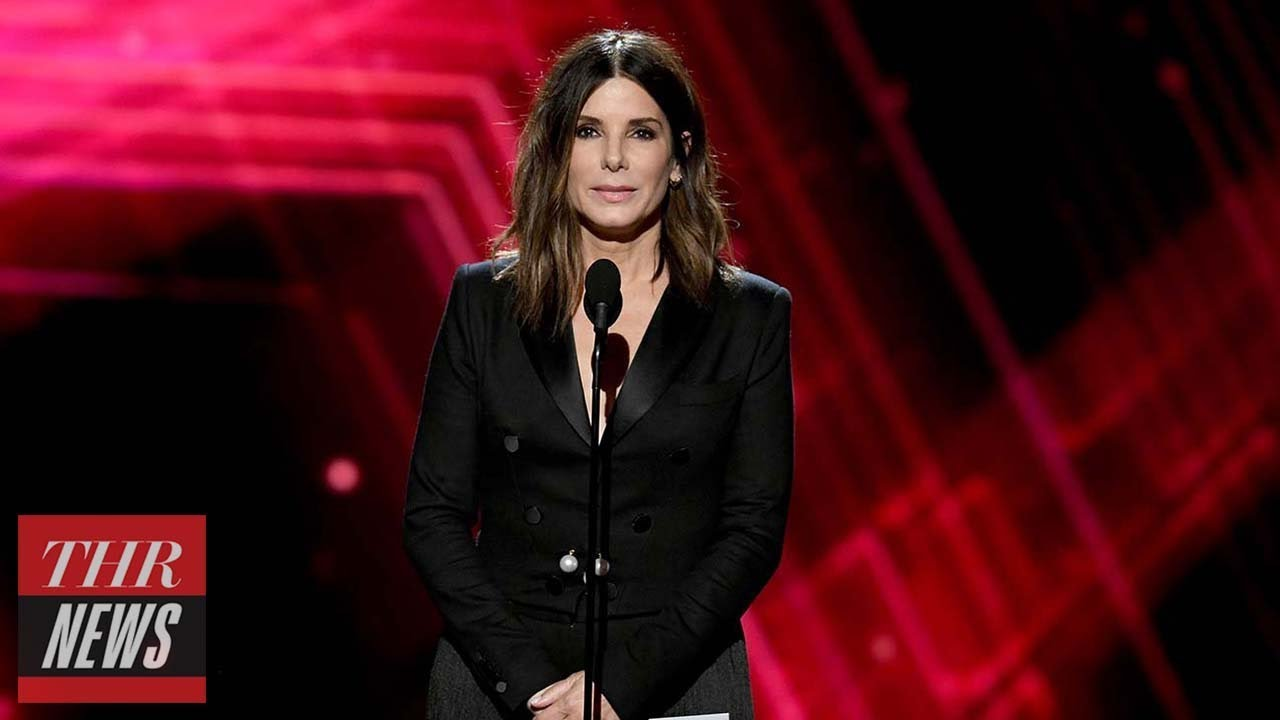 Sandra Bullock Supports U.S. Women's National Soccer Team's Equal Pay Mission at ESPYs | THR News