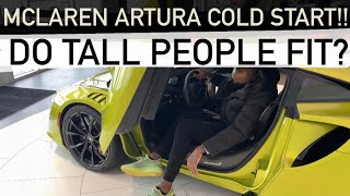 NEW 2022 McLaren Artura COLD START!! First LOOK in depth Review!