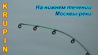 Рыбалка осенью в низовье Москвы реки