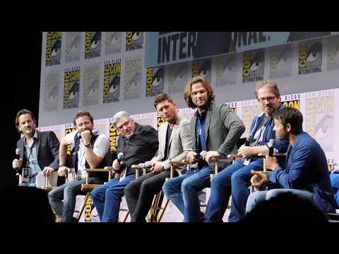 Supernatural panel FULL including Kansas (Jared Padalecki, Jensen Ackles) @ SDCC 2017