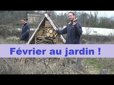 que faire au jardin en fevrier youtube. Black Bedroom Furniture Sets. Home Design Ideas