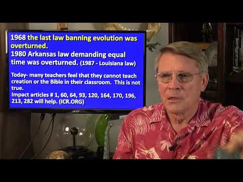5-10-18 Dr. Kent Hovind: Lies in the textbooks - Session 5