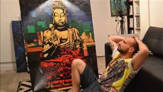 ►DEKA : La Peinture MAGIQUE #4 - (Painting of BOUDDHA)