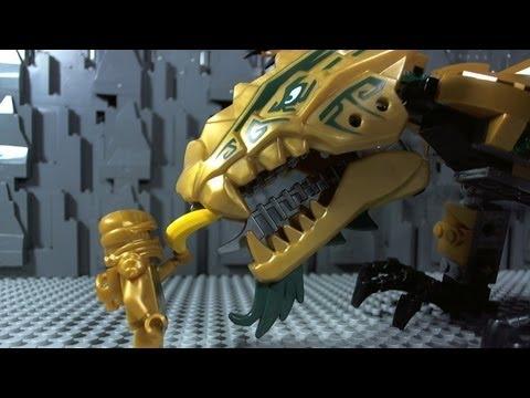 Lego ninjago the golden dragon 70503 youtube - Ninjago lloyd gold ...