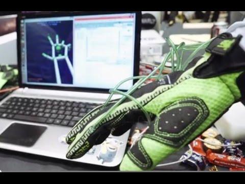 Dabi News - Hands Omni haptic glove lets gamers feel virtual objects