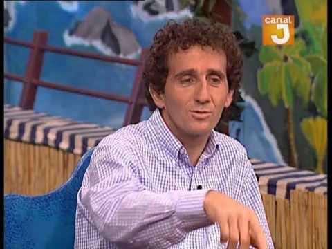Cajou invité Alain Prost était l'invité du Cajou sur Canal J !