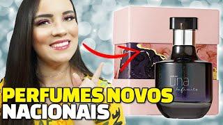 Trouxe pra vocês nesse vídeo os novos perfumes nacionais que chegaram por aqui! São perfumes nacionais que eu queria muito conhecer, tem lançamento ...