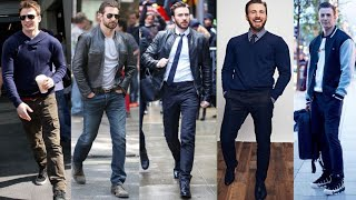CHRIS EVANS BEST OUTFITS || MENS OUTFITS || MENS FASHION