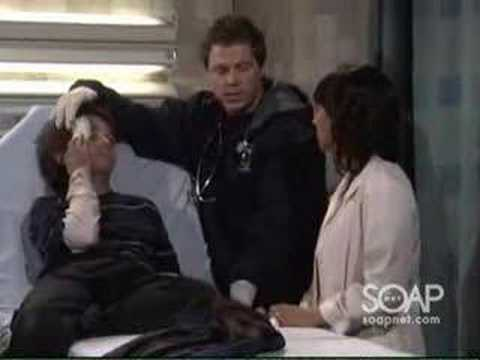 Robin tends to Michael at GH