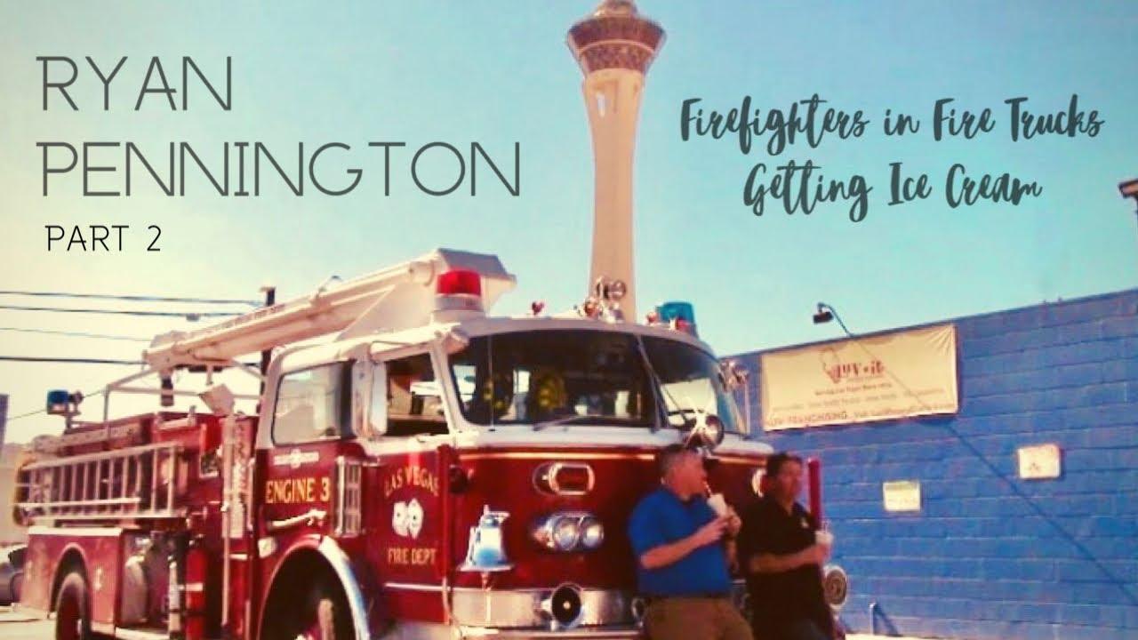 Firefighters in Fire Trucks getting Ice Cream - Ryan Pennington (Part 2)