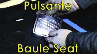 Smontaggio pulsante baule Seat Altea + riparazione DIY