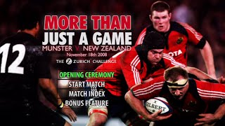Munster vs New Zealand 2008 Rugby Documentary