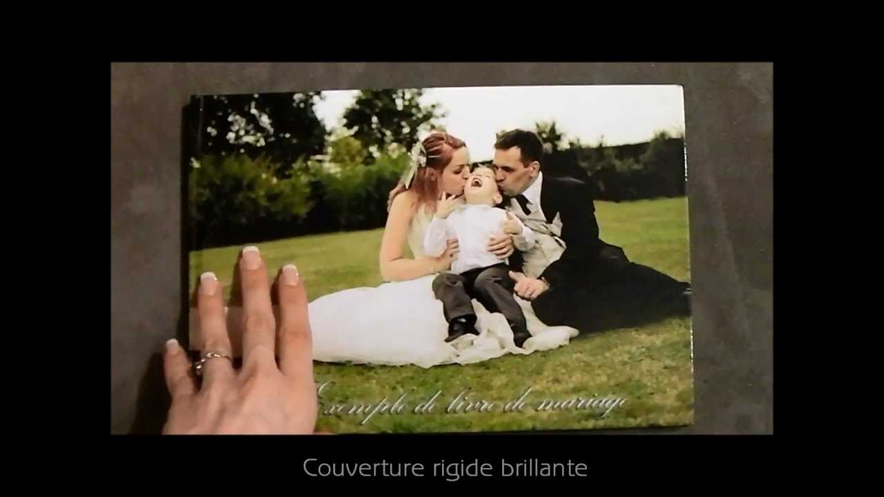 Très Exemple livre photo de mariage by cessphoto - YouTube JK07