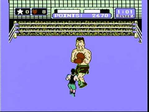 punch out nes mr dream tko youtube