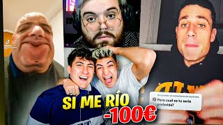 TE REGALO 100€ SI ME HACES REÍR *no podéis mandar estos vídeos...*