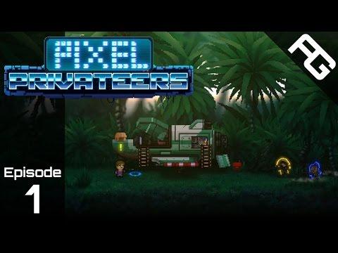 Schwable Co - Let's Play Pixel Privateers - Episode 1 - Pixel Privateers Gameplay - Pixel Privateers