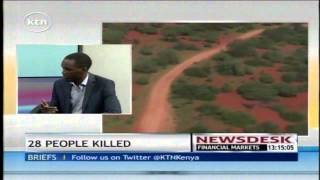 Sam Ogina gives details on the situation in Mandera after the massacre