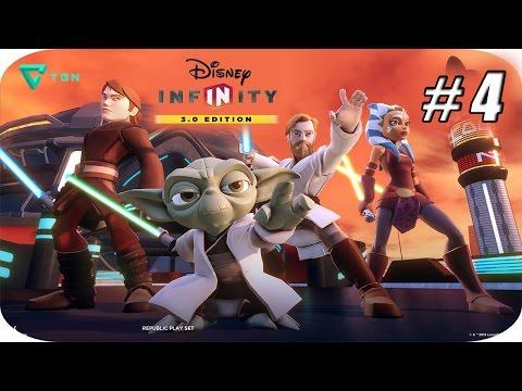 Disney Infinity 3.0 - Star Wars Twilight Of The Republic - Capitulo 4 - 1080pHD