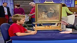 Boy Buys a Dusty Painting - Then Realizes Who It's By