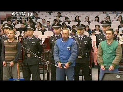 chine huit terroristes du xinjiang condamn s la peine de mort youtube. Black Bedroom Furniture Sets. Home Design Ideas