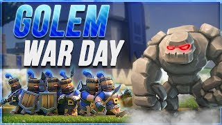 We built an AMAZING GOLEM DECK for BATTLE DAY in Clash Royale!