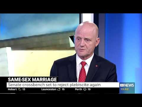 Talking same-sex marriage on ABC