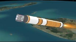 Delta IV WGS-9 Mission Profile