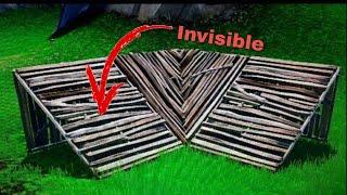 GLITCH invisible staircase fortnite
