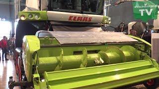 CLAAS kombajny i traktory na Agritechnika 2019 w Hanowerze