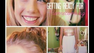 ❁ Homecoming Hair, Makeup & Outfit ❁ Thumbnail