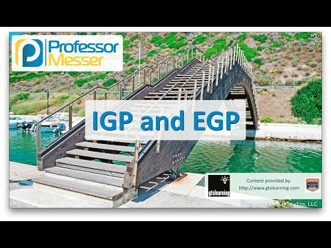 Descargar Video IGP and EGP - CompTIA Network+ N10-006 - 1.9