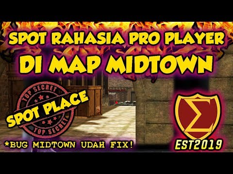 SPOT RAHASIA PRO PLAYER DI MAP MIDTOWN !! - POINTBLANK INDONESIA
