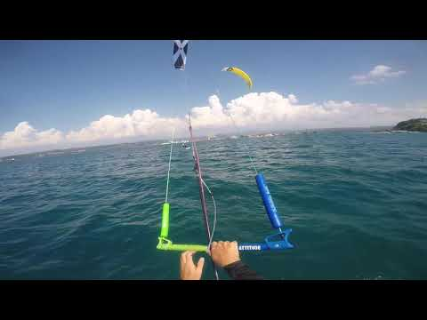 Test Kite Session Kitech FRS 15m UL