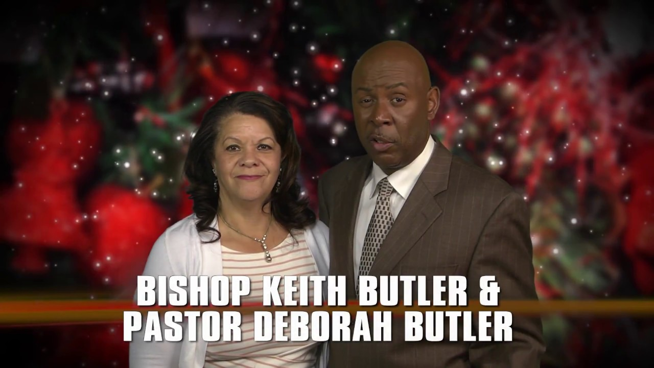 Christmas greeting bishop and pastor keith a butler youtube christmas greeting bishop and pastor keith a butler kristyandbryce Image collections