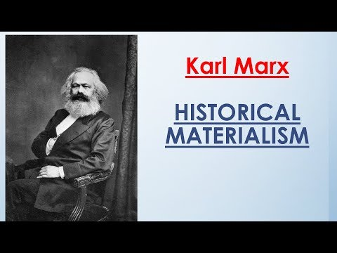 Sociology for UPSC : Karl Marx - Historical Materialism - Lecture 67 (PDF Attached)