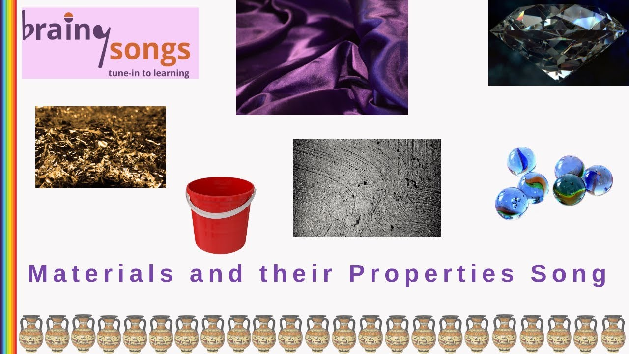medium resolution of Materials and their Properties Song   Science Songs - YouTube
