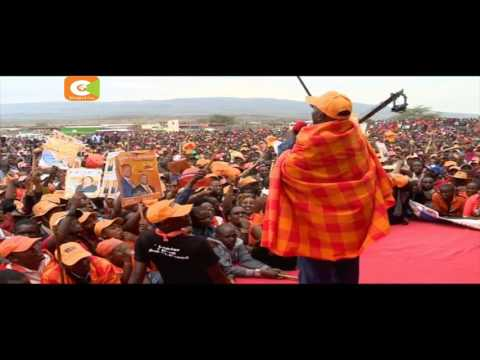 NASA canvass Bomet, Narok, Kericho