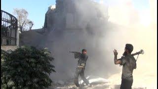 أخبار حصرية | قوات الأسد تسعى لإبعاد المعارضة السورية أكثر عن العاصمة #دمشق
