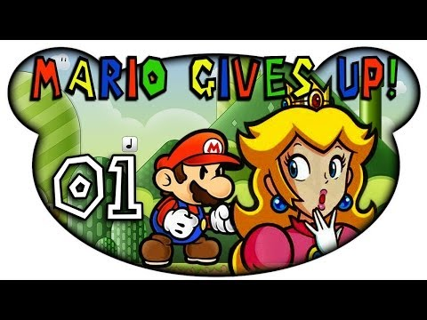Let's Play Together Mario Gives Up (German) #01 - Kein Bock mehr auf Peach!