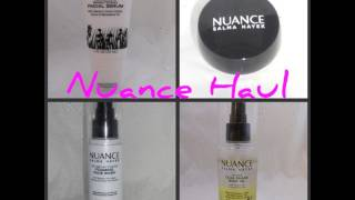 Skin Care Haul + First Impressions - New Nuance Products!