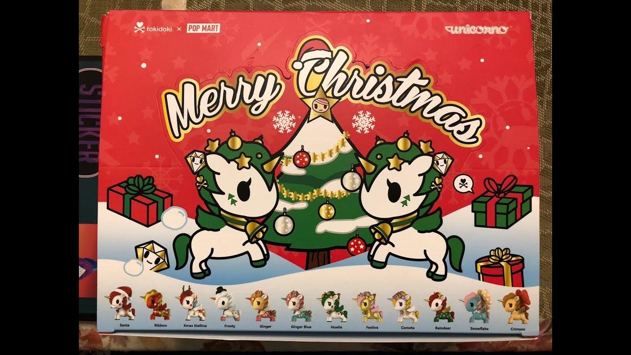 Tokidoki POP MART Unicorno Christmas Mini Figure Designer Toy Figurine Cometa