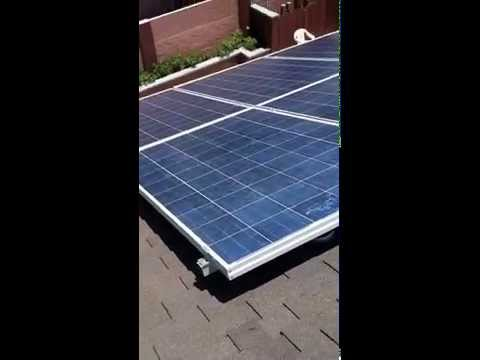 Solar System installation, Huntington Beach, CA