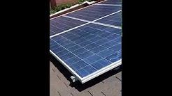 Solar System installation, Huntington Beach, CA