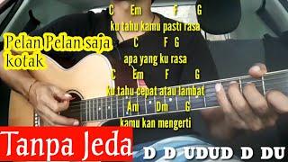 Chord Pelan Pelan Saja - Kotak ( TANPA JEDA ) Tutorial Gitar By Darmawan Gitar