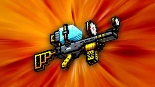 Pixel Gun 3D - Solar Ray Rifle UP2 [Review]