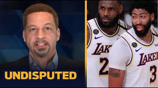 """Chris Broussard """"admit"""" Lakers loss to Nuggets in Game 3 because of Anthony Davis plays too passive"""